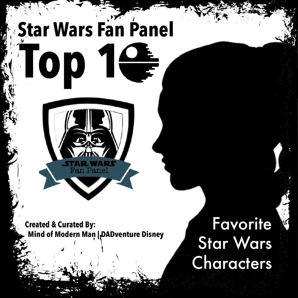 Star Wars Top 10 Favorite Characters